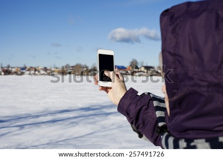 Phone. - stock photo
