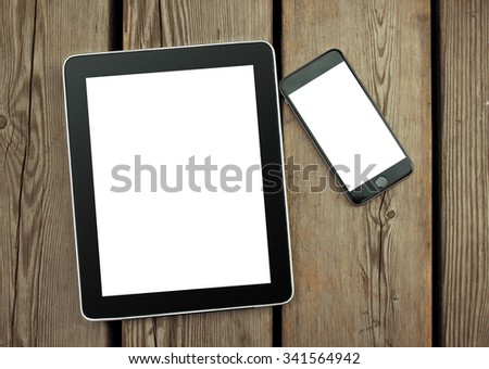 Phone and tablet