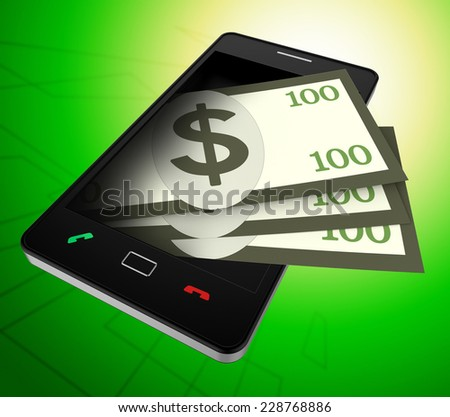 Phone Dollars Meaning World Wide Web And United States