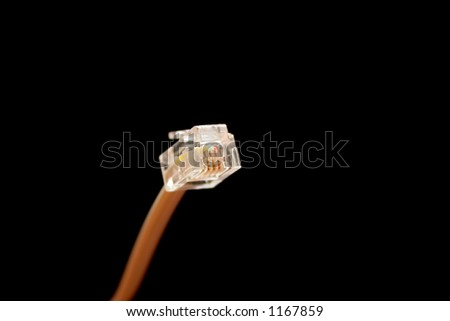 Phone Plug 2 - stock photo