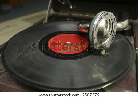 Phonograph - stock photo