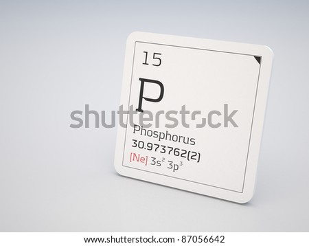 Phosphorus - element of the periodic table