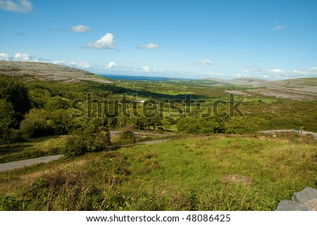 photo beautiful breathtaking vibrant  irish scenic coastal seascape