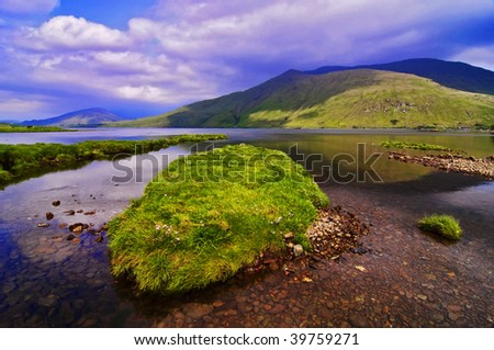 photo capture of a breathtaking natural nature landscape - stock photo