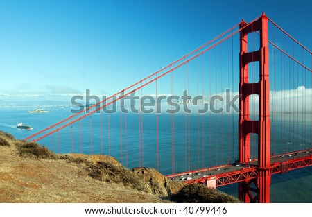 photo capture of san francisco cityscape and golden gate bridge