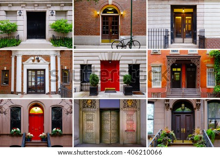 Entrance Door Stock Images Royalty Free Images Vectors