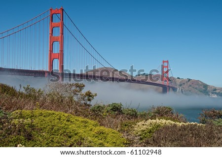 photo famous golden gate bridge, san francisco