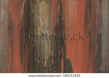 Photo grunge texture of old painted metal - stock photo