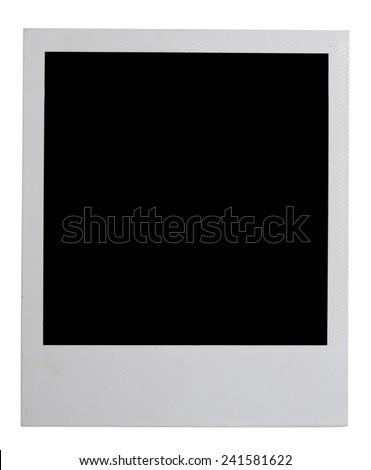 photo isolated on white - stock photo