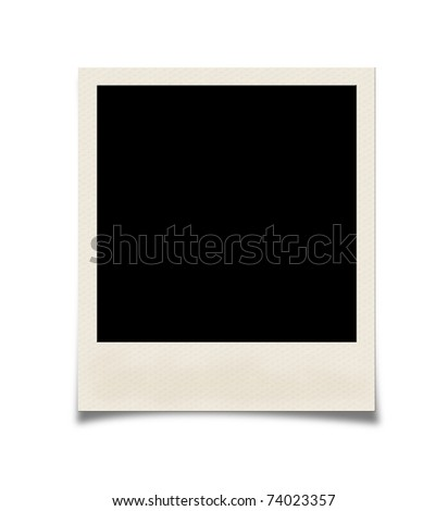 Photo isolated on white - stock photo
