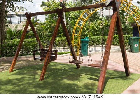 photo of a children's playground