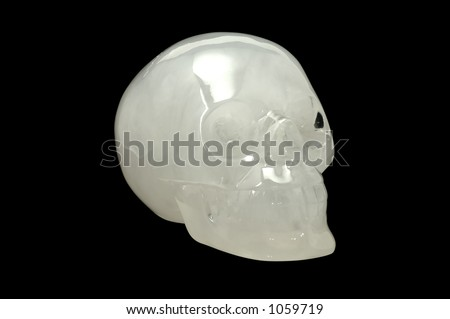 Photo of a Crystal Skull