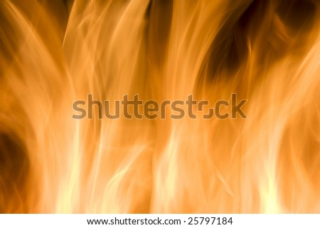 Photo of a Flame filling the Frame - stock photo