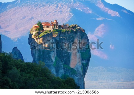 Photo of a Holy Trinity Monastery - stock photo