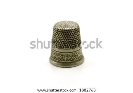 Photo of a Vintage Thimble