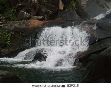 Photo of a Waterfall