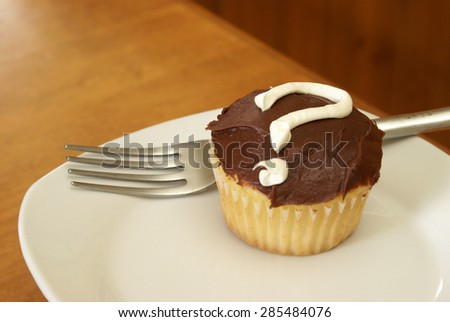Photo 5 of an event held in revealing the gender of a new mothers baby done in a unique photo series using mystery cupcakes to let people know if its a boy or girl. - stock photo