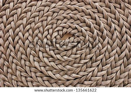 Photo of Braided rope - stock photo