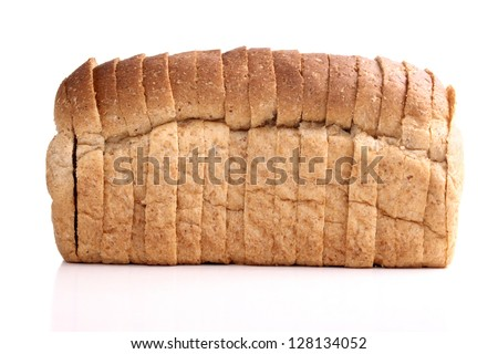 Photo of Bread - whole wheat - stock photo