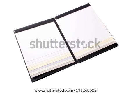 Photo of Catalog paper sheet - stock photo
