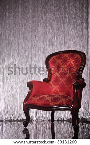 photo of classic armchair
