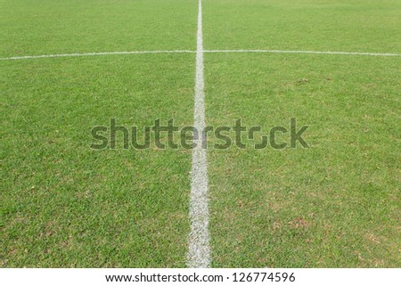 Photo of football grass background