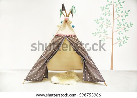 photo of Hut in the children's room
