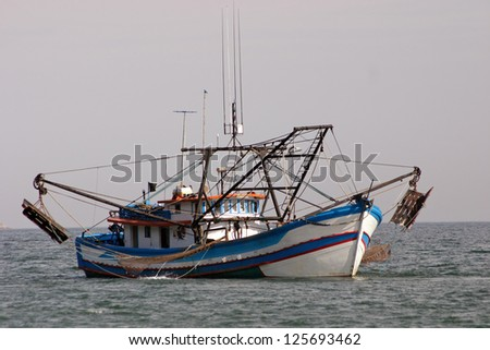 Photo of Industrial fishing boat