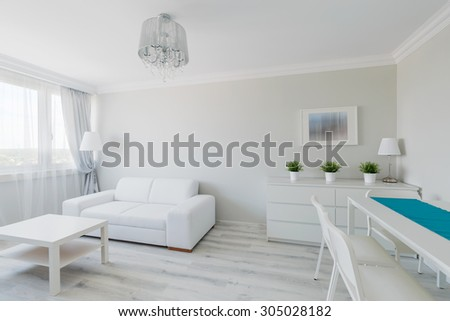 Photo of neat furnished elegant contemporary apartment