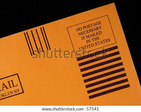 Photo of Postage Paid Envelope