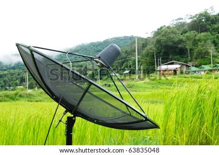 photo of satellite - stock photo