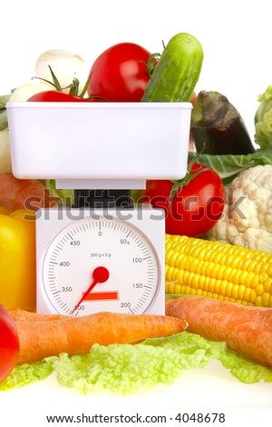 Photo of various vegetables. Healthy food