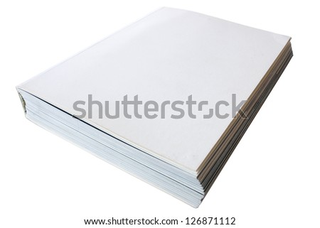 Photo of White book cover
