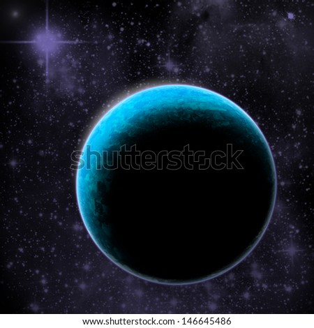 Photo planet earth graphic - stock photo
