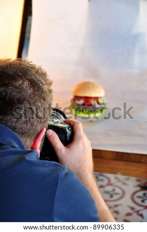 photo shooting - stock photo
