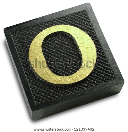Photograph of Game Tile Letter O