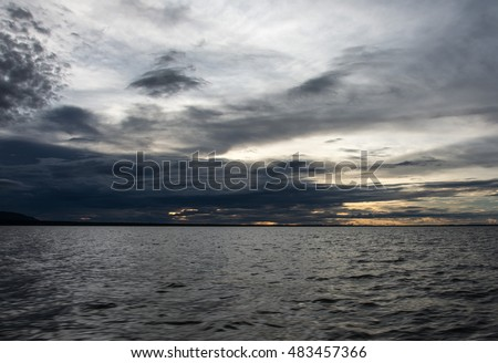 Photograph of Lake Kariba, Zimbabwe