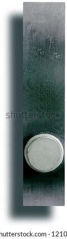 Photograph of Metal Letterpress Period - stock photo