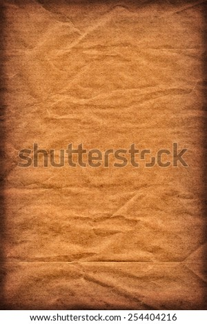 Photograph of old Recycle Kraft Brown Paper