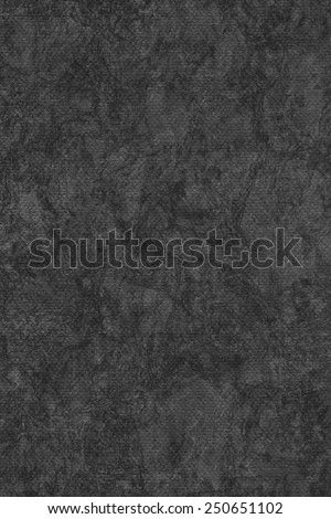 Photograph of Recycle Charcoal Black Pastel Paper, coarse grain, bleached, mottled, grunge texture sample. - stock photo