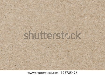 Photograph of recycle paper light ochre coarse grain grunge texture sample - stock photo