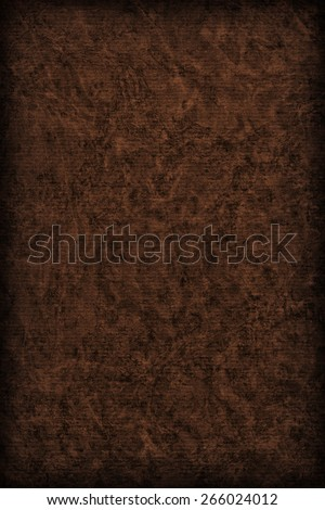 Photograph of Recycle Striped Charcoal Black Pastel Paper, bleached, mottled, coarse grain, vignette grunge texture - stock photo