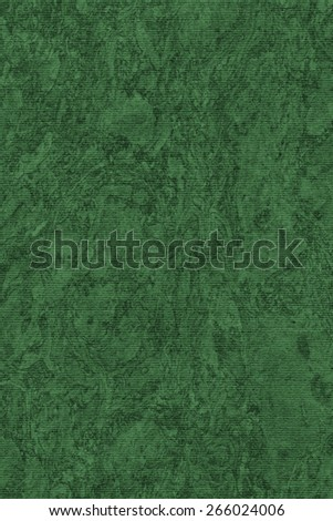 Photograph of Recycle Striped Jade Green Pastel Paper, bleached, mottled, coarse grain, grunge texture sample. - stock photo