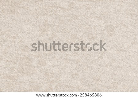 Photograph of Recycle Watercolor Paper, coarse grain, light Grayish Beige, bleached, interspersed with delicate irregular white linear pattern, grunge texture detail sample. - stock photo