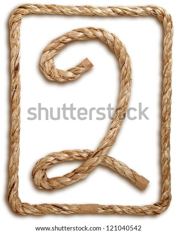 Photograph of Rope Number 2 - stock photo