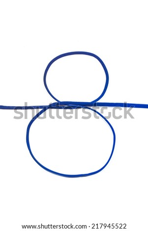 Photograph of Rope Number 8. - stock photo