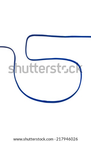 Photograph of Rope Number 5. - stock photo