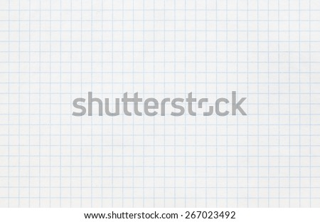 Photograph of White Grid Paper Texture - stock photo