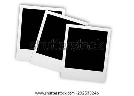 Photograph, Photography, Instant Camera. - stock photo