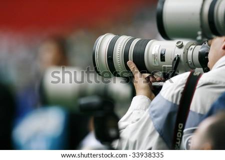 Photographe - stock photo